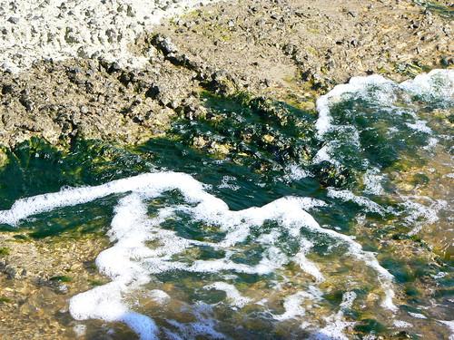 Camden - Wave on Rocks and Scum