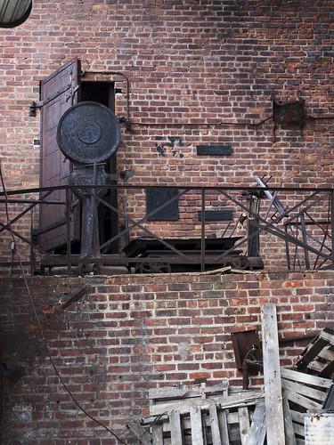 Inside Falling factory