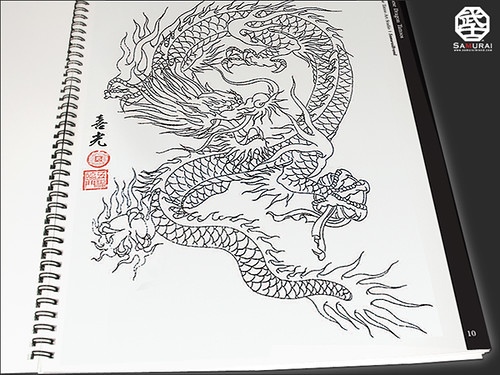 """Japanese Dragon Tattoos(Instant Download version)"" is great for t-shirts,"