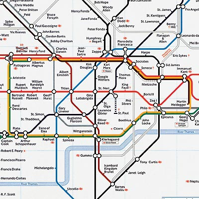 Great Bear tube map