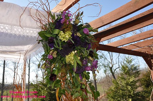 Chuppah Flowers by Heaven on Earth Flowers