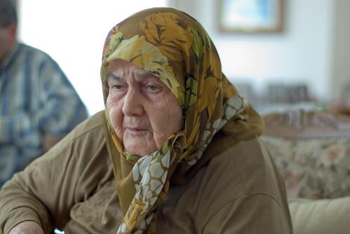 grandma portrait, pentax k10d