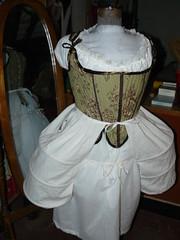 18th c. Costume, panniers