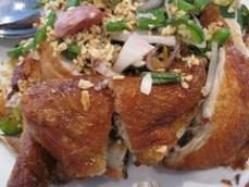 wan lai - meet the garlic fried chicken