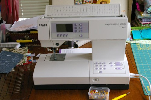 My new sewing machine