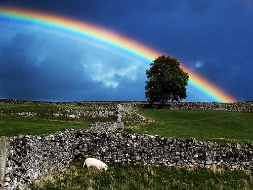 Rainbow over the Dales 01 by pleem1983