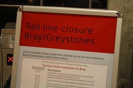 Irish Rail Line Closure