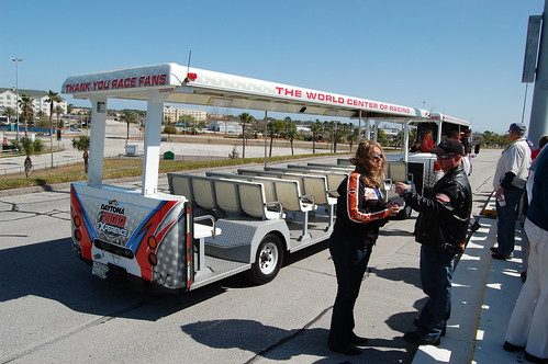 Daytona Intl Speedway Tram