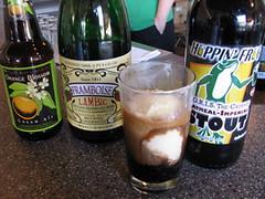 Orange Blossom - Orange Ale * Framboise - Raspberry Lambic * Hoppin Frog - Oatmeal Imperial Stout