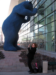Me with the big blue bear