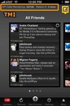 Tweetdeck for iPhone - TMI