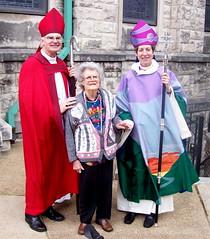 Bishop Don Johnson; pioneering female photogra...