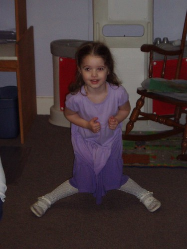 A special dance for preschool
