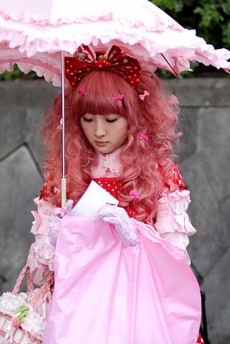 Harajuku Girl with umbrella II