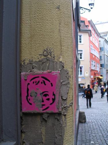 En el casco antiguo de Zurich
