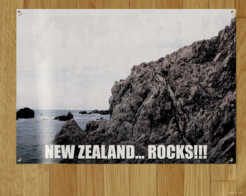 New Zealand... Rocks!!!