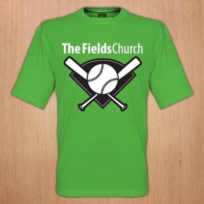 The Fields Church - Tee Ball Design