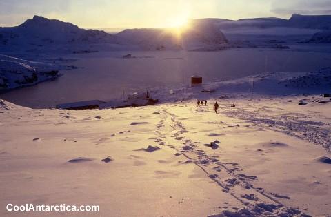 Signy Island Antarctica base