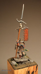 Samurai, side view