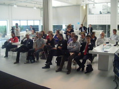 people listening to patrick healey @ social ca...