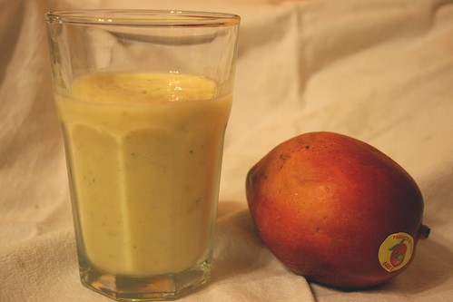 Mango smoothie, 1st try