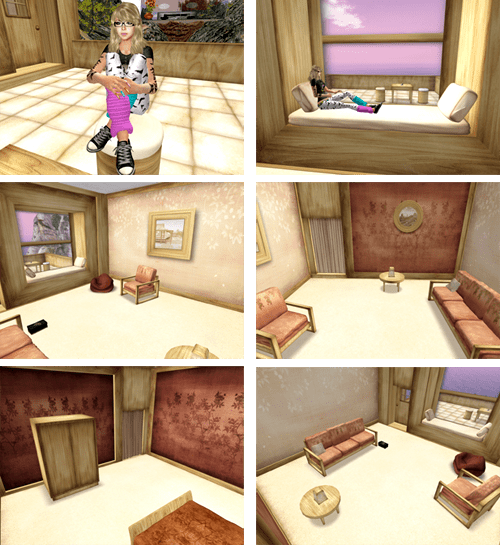 *PASH* FURNISHED Little Haven skybox - ONLY L$1