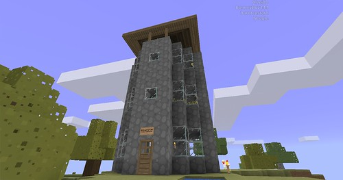 Minecraft - Tower Outside
