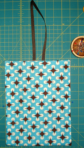 money bag - prep for stitching