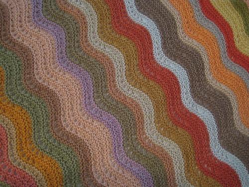 shawl closeup