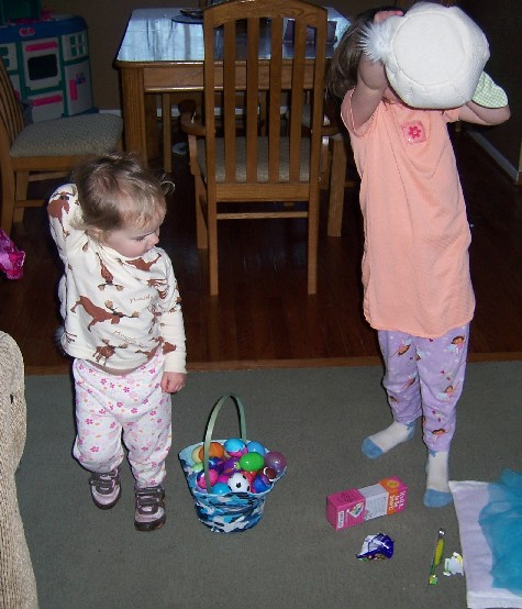 Easter Baskets: Found!
