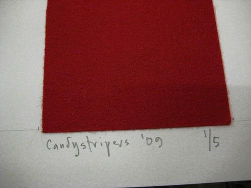 Candystripers Sign