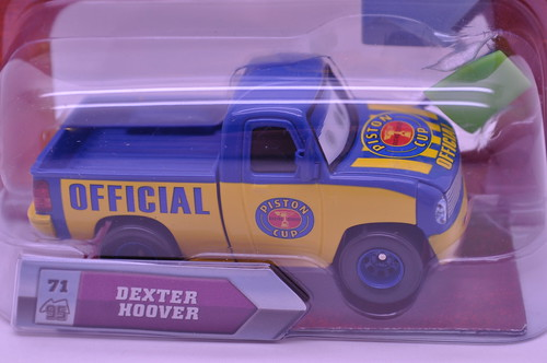 disney cars lenticular dexter hoover with green flag (2)