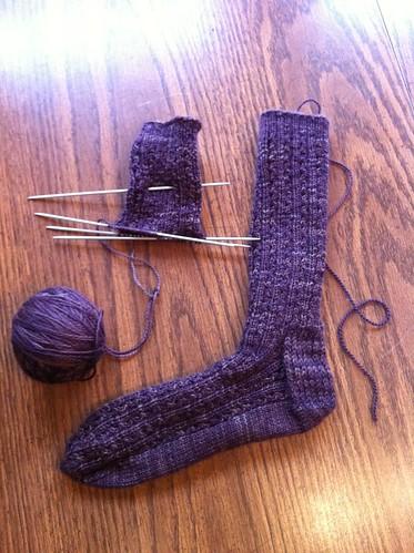 Java socks, second sock