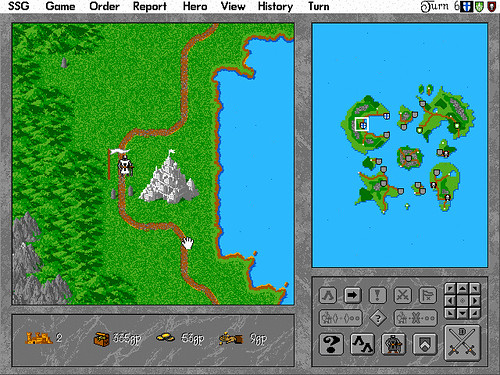 Screenshot of Warlords II