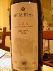 Rioja Reserva 2004. Guia Real.