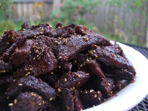 Julia's Orange Marinated Dried Beef