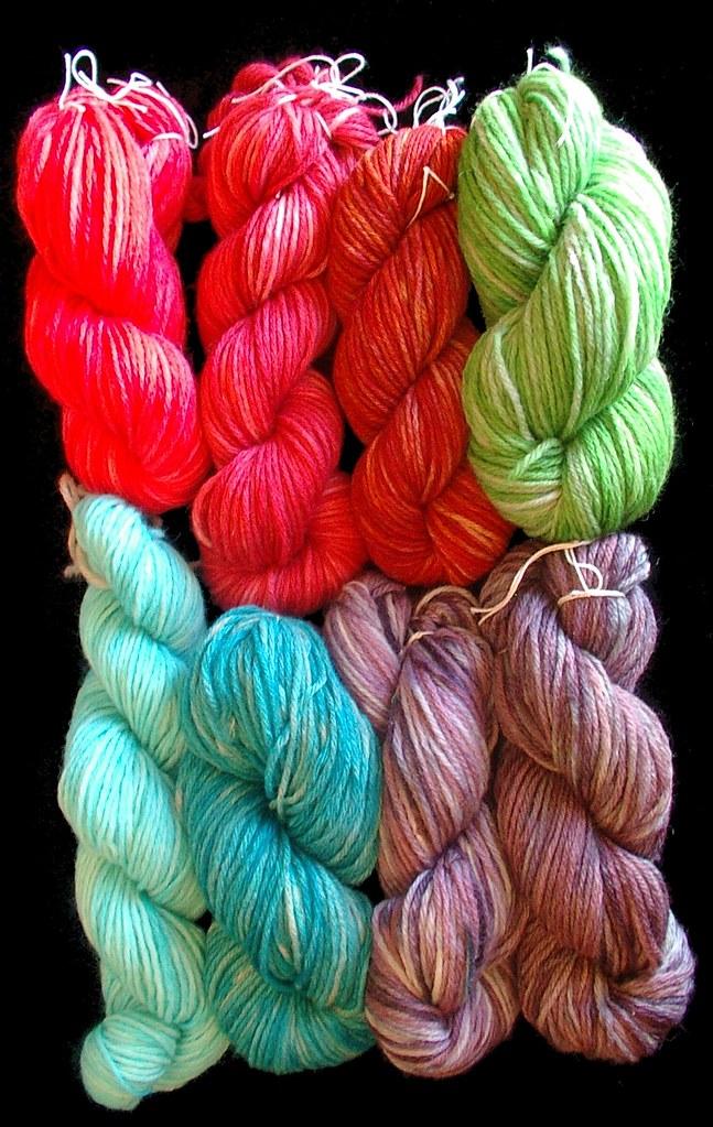 kool aid dyed wool