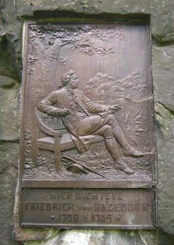 Denkmal Friedrich von Hagedorn - Detail