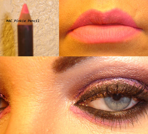 MAC Pinkie Pencil - Maybelline Lash Stylist