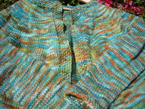 Yoke Sweater in Araucania Nature Wool