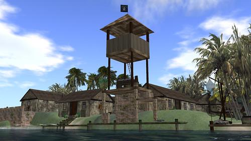 Pirate fort at Jabberwock - image by PJ Trenton