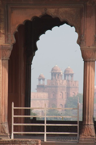 Red Fort of Delhi viewed from the Jamar Masjid
