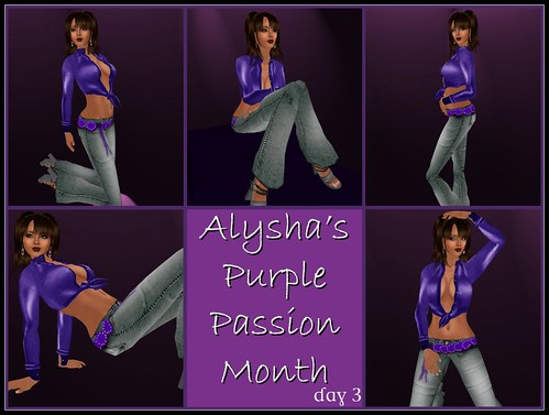 BLOG:  Aly's Purple Passion Month - Day 3