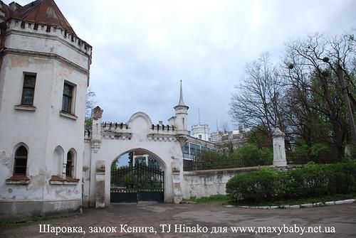 Шаровка, замок Кенига
