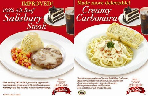Red Ribbons New Improved Meals