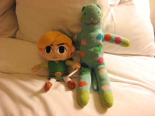 Link and Nekoemon