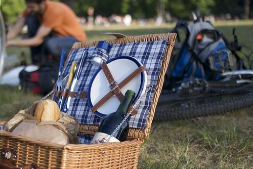 a feudal picnic basket