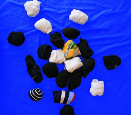 Bodegón de calcetines 1