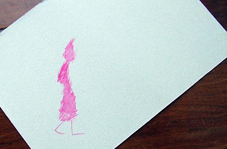 o novo vestido cor-de-rosa