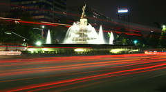 Mexico City - Diana Fountain near El Ángel de ...